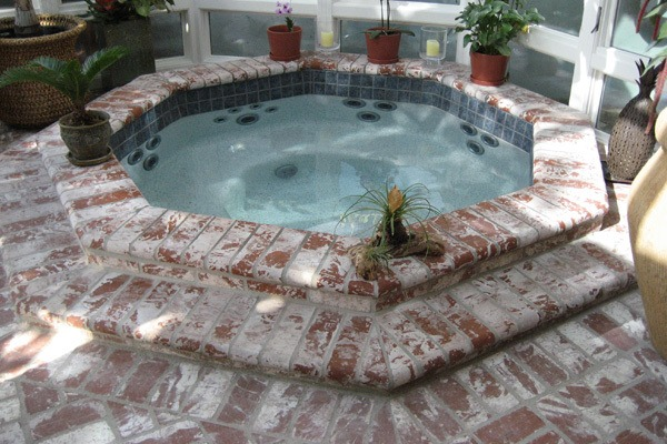 Custom Inground Spa In Orange County Fully Customized