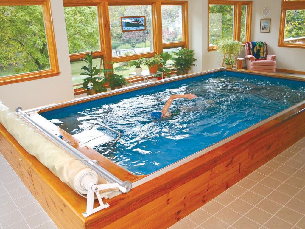 Flow swimming pools swim spas in ground exercise swimming for Swimming spa